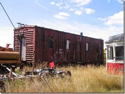 PlacesPages: Misc  Railroad Equipment at the Oregon Electric Railway