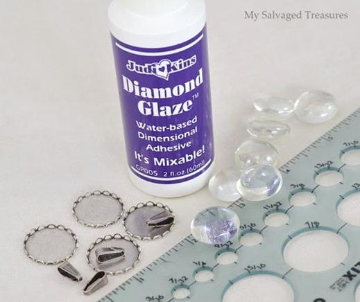 jewelry Diamond Glaze marbles