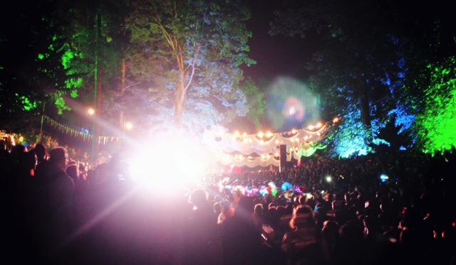 forest rave