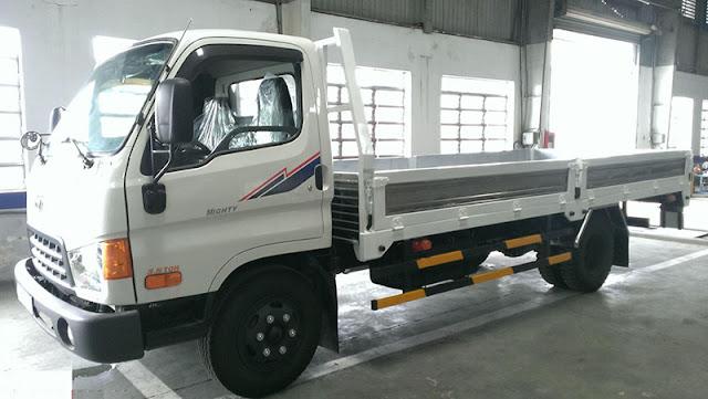 Hyundai 8 tấn thùng lửng