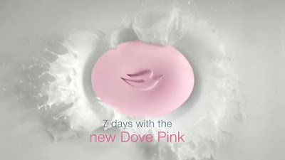 Soft smooth glowing skin is now Pink NewDovePink