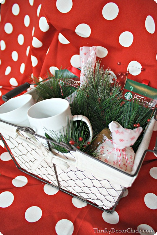 Christmas gift basket under $20