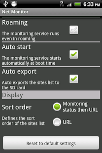 Net Monitor Free - screenshot thumbnail