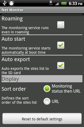 Net Monitor Free - screenshot