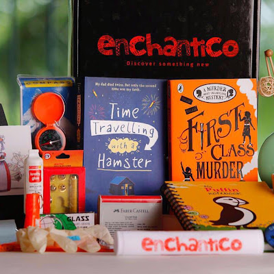 Here is a sneak peak into the Enchantico Boxes that were sent