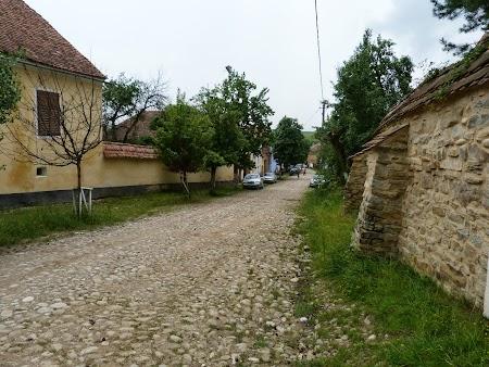 Fortificatii sasesti in Transilvania: ulitele din Viscri