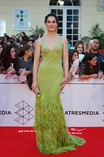 Celia Freijeiro attends the 17th Malaga Film Festival 2014