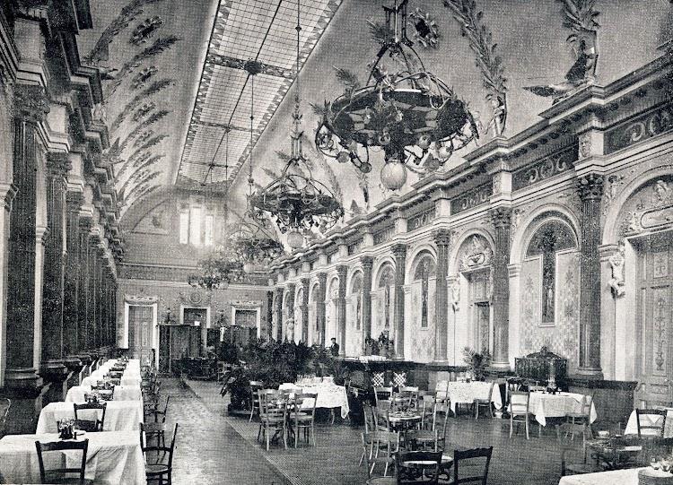 Salon cafe-restaurante. De la Memoria sobre el estado y adelanto de las obras del puerto de Barcelona durante los años 1.907 a 1.910, ambos inclusive.JPG
