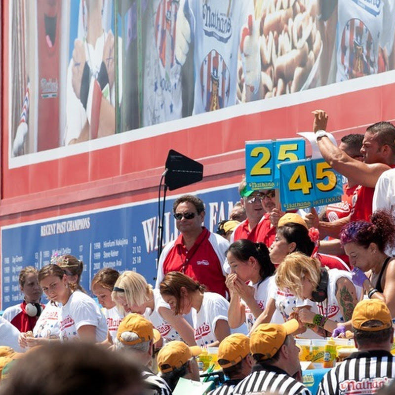 Nathan's Hot Dog Eating Contest 2012