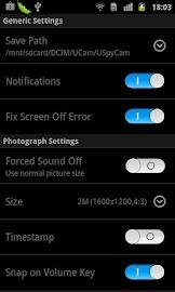 USpyCam (Ultra Spy Camera) Screenshot 3