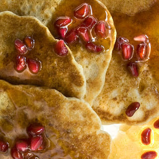 Whole Wheat–Oat Pancakes