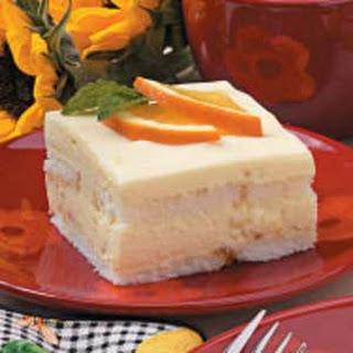 Orange Refrigerator Cake