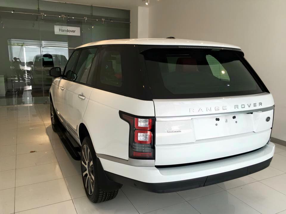 Xe Land Rover Range Rover Autobiography LWB Full Oftion màu trắng 03