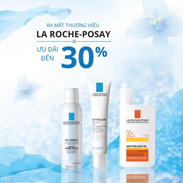 Ngày cuối cùng cho ưu đãi GIẢM ĐẾN 30% La RochePosay