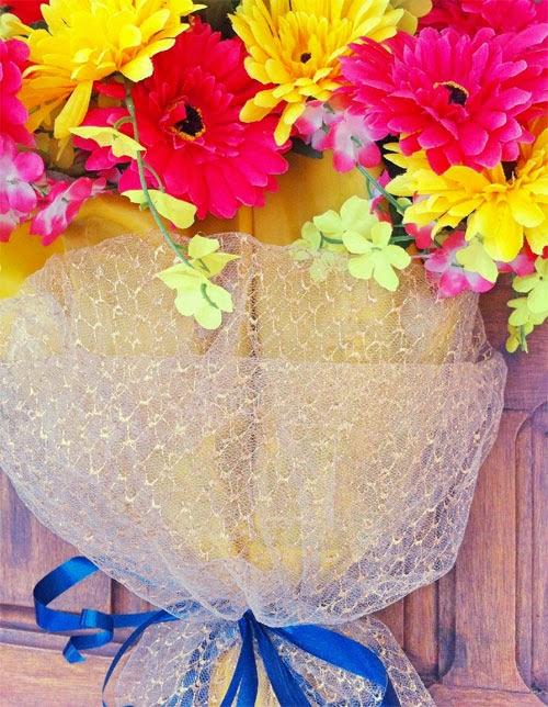 decorando a casa - enfeite com flores