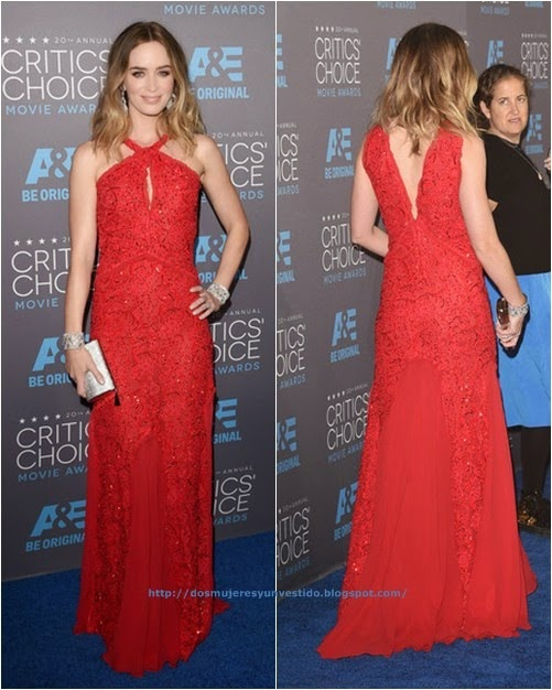 Emily Blunt attends the 20th annual Critics Choice Movie Awards
