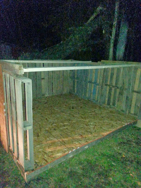 My Simple Life Easy Diy Pallet Goat House