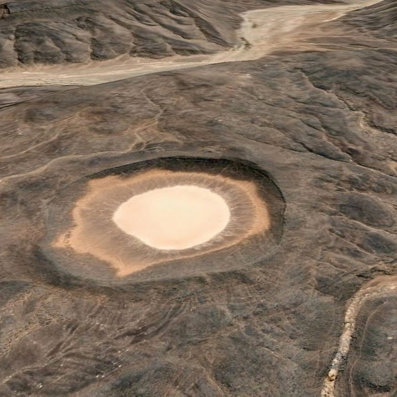 Amguid Impact Crater