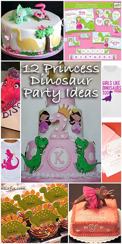 Princess Dinosaur Ideas