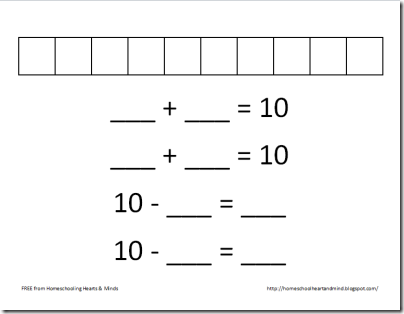 tens worksheet thumbnail