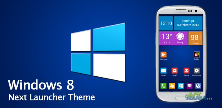 Next Launcher ThemeWindows 8 v1 0 APK ~ Galaxy Pocket Club