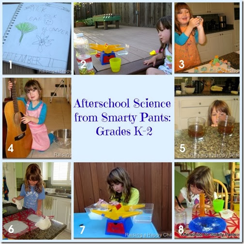 Afterschool for Smarty Pants: Easy Science Activities for Grades K-3