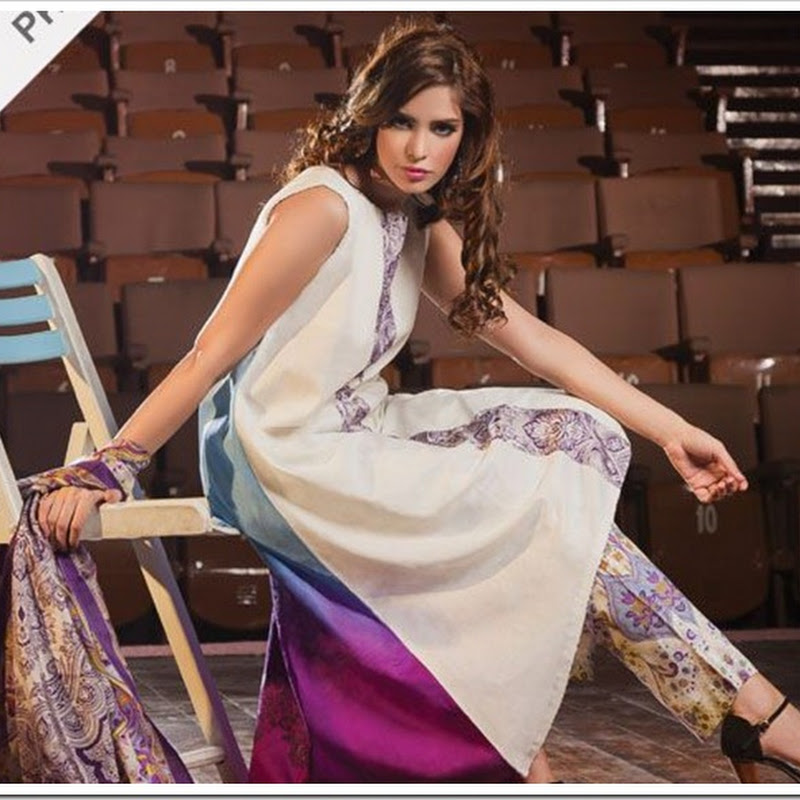Allure Spring Collection 2013 By Al-Karam Textiles