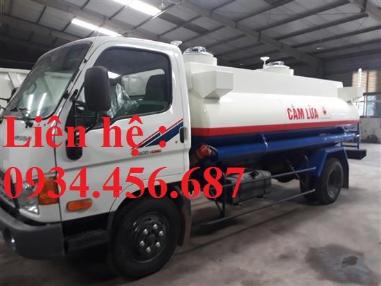 Bán xe xitec chở xăng dầu 9 khối Hyundai 110s