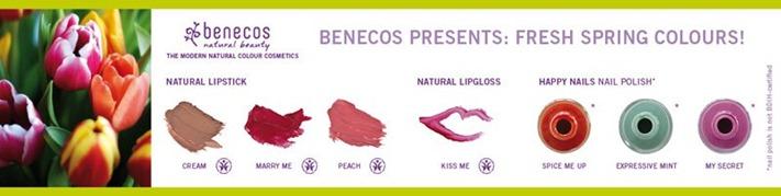 Benecos fresh spring colors 2012