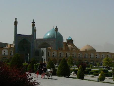Obiective turistice Iran: Imam Square Esfahan