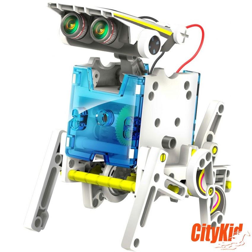 lắp ráp robot biến hình
