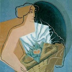 Juan Gris (1927): Mujer con cesta