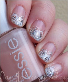 Schnee Winter Nageldesign 2