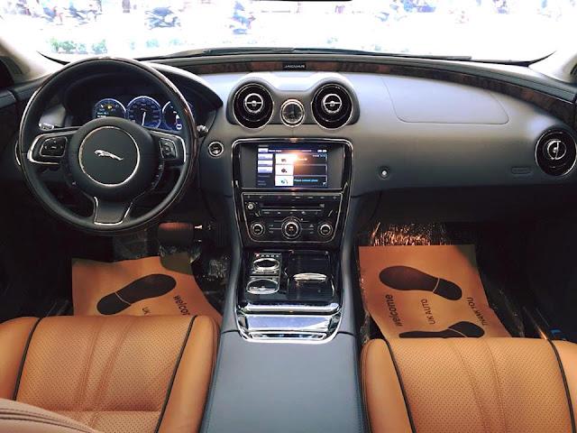 Nội thất xe Jaguar XJL Premium Luxury LWB 01