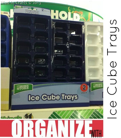 Dollar Store Ice Cube Tray