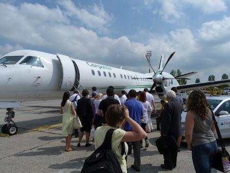 Carapatair la Timisoara Airport