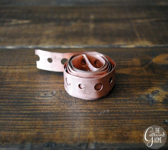 Copper Coated Steel Hanger Strap