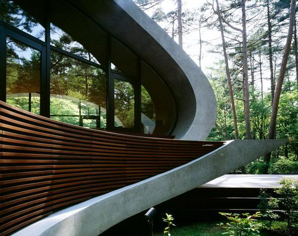 Biệt thự đẹp hài hòa với thiên nhiên