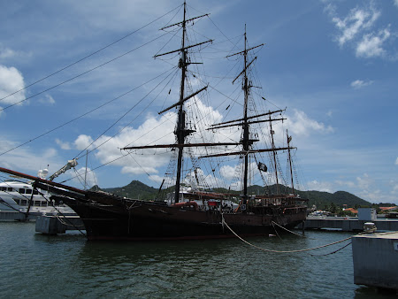 Obiective turistice St. Lucia Caraibe: Perla neagra