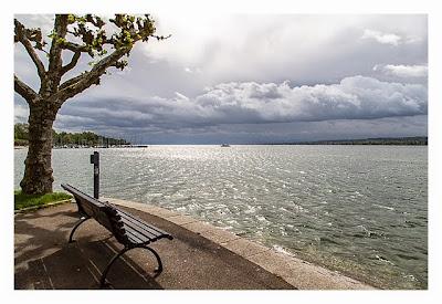 Konstanz: Sightseeing & Geocaching - Blick auf den Bodensee