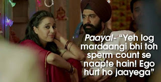 tanu_manu_dialogues_payal_mardaangi_sperm_count_ego_returns_vikrmn_author_ca_verma_10alone