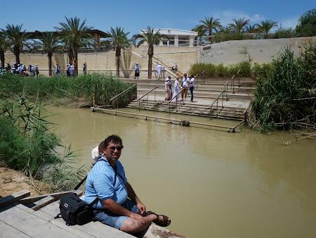 Locul botezului lui Isus Hristos: La raul Iordan
