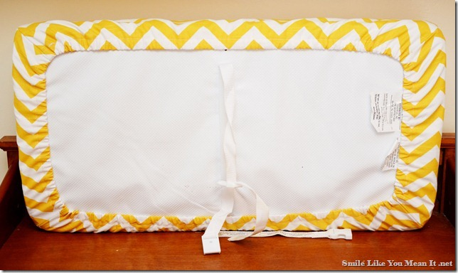 Smile Like You Mean It Changing Pad Cover Tutorial
