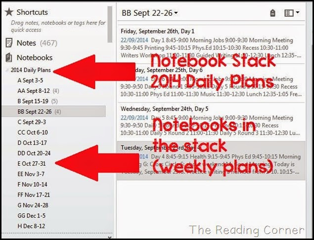 how to create a template in evernote - the reading corner how to create notebooks notes and