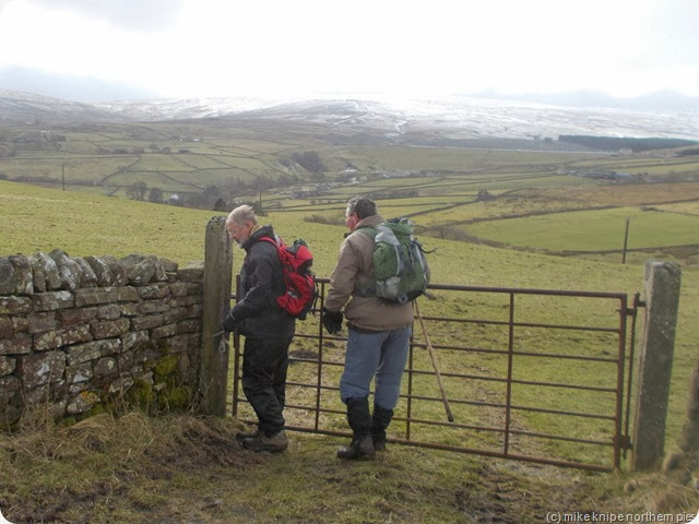 ralph and richard see to a gate