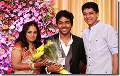 G Venket Ram at GV Prakash Kumar & Saindhavi Wedding Reception Photos