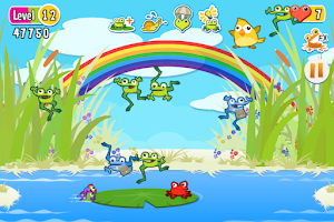 Screenshot of The Froggies Game