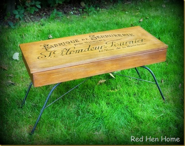 Red Hen Home French Bench 1