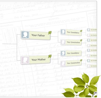 利用在线家庭树的力量