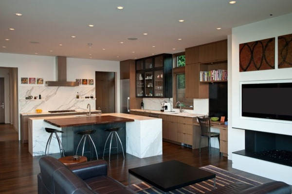 cocina-moderna-integrada-al-salon